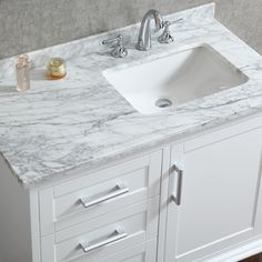 white bathroom cabinets. Ace 42 Inch Single Sink White Bathroom Vanity With Mirror Tap The Link Now To See Where World\u0027s Leading Interior Designers Purchase Their Beautifully Cabinets