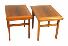 Teak end tables from Prarieland, Niles, IL. $365. I don't know if I'll end up needing these, but someone should snap them up.