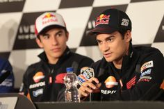 Marquez and Pedrosa, Dutch MotoGP 2014