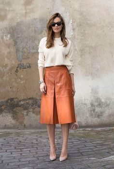 Look Casual Chic, Casual Looks, Waist Skirt, High Waisted Skirt, Dress Trousers, Going Out, Street, Formal, My Style