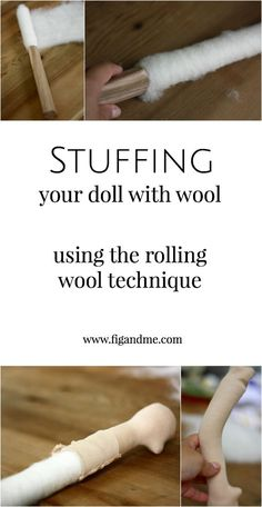 When you are learning how to make dolls, stuffing them becomes a steep learning curve. If you are working with wool stuffing, then the difficulty increases, as wool behaves quite differently than othe