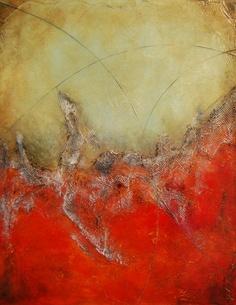 Original Abstract Painting -Mixed Media - Colorful Painting- Sculpted Textured Painting -Abstract Art - 28x22