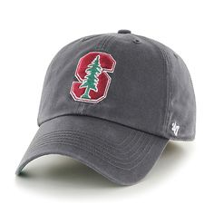 9c1ebcade879f Stanford Cardinal Franchise Charcoal 47 Brand Fitted Hat Stanford Hat