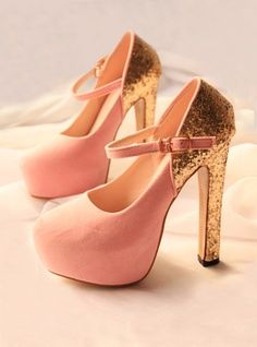 Pink Cingulate Platforms Shoes