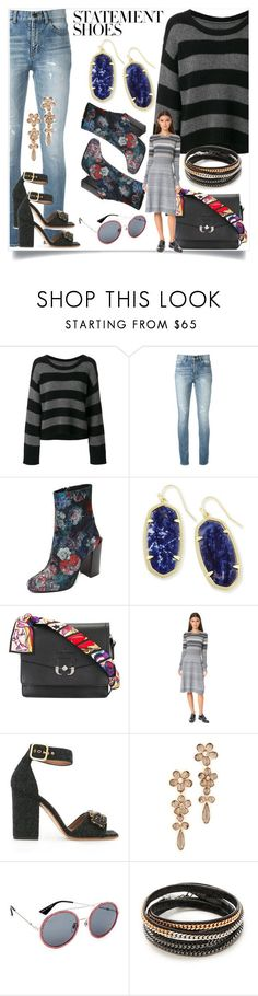"""""""fashionable"""" by kristeen9 ❤ liked on Polyvore featuring RtA, Yves Saint Laurent, Jeffrey Campbell, Kendra Scott, Paula Cademartori, Marc Jacobs, Marni, Kate Spade, Gucci and Vita Fede"""