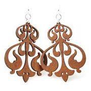 Rorschach Ink Design Earrings # 1118