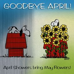Goodbye April!