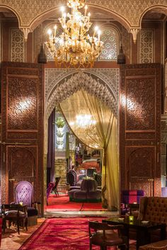 Moroccan Design, Moroccan Decor, Moroccan Style, Islamic Architecture, Interior Architecture, Exterior Design, Interior And Exterior, Dream Home Design, House Design
