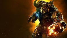 Download Cyberdemon 4K Wallpaper Doom 2016 3840x2160