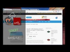 Sonoff wifi switch control with ESP Easy and Node Red - YouTube