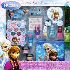 12-Piece Disney's Frozen Beauty Cosmetic Set for Kids - Frozen Beauty Play Kit for Kids TopValueSupplies http://www.amazon.com/dp/B00I3RZEM6/ref=cm_sw_r_pi_dp_7d1aub0TKD8QM