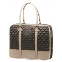 a7d8f9fe9f1 Sushi case Brown Autumn Leaf Quilted up to 17 inch. Lataza · Dames  laptoptassen