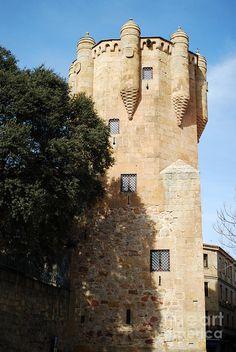 Tower Of Clavero In Salamanca. Spain