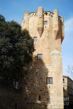 Tower Of Clavero In Salamanca. Spain