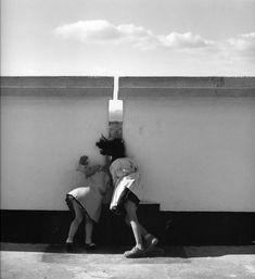Sur le toit de l'Unité d'habitation Marseille, Lucien Hervé. Hungarian (1910 - 2007)