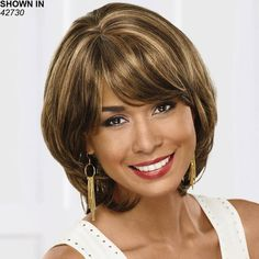 Tina Wig by Especially Yours® Pelo Color Gris, Frosted Hair, Best Wigs, Medium Curly, Wigs For Black Women, Long Hair Cuts, Gorgeous Women, Hair And Nails, Hair Extensions