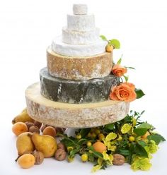 Cheese cake #weddingstyle #weddings #cheesecake repinned by www.hopeandgrace.co.uk
