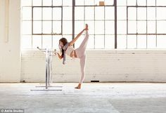 Look at her go! Sonoya, who was born in Japan and raised in the UK, is seen twisting and b...