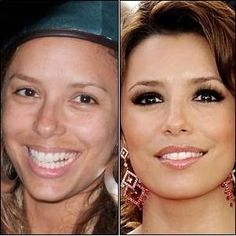 Celebrities without makeup - is it bad that this makes me feel better about myself?