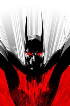Batman Beyond by Dustin Nguyen - Bat of Gotham The New Batman, Im Batman, Batman The Dark Knight, Batman Comics, Super Batman, Superman, Bob Kane, Batman Beyond Terry, Dustin Nguyen