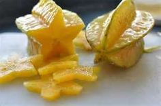 Starfruit in Paradise Punch.