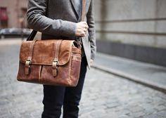 ONA | The Brixton - Camera and laptop messenger bag $419