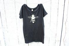 Womens Honey Bee Tshirt  Women  Alternative Apparel  by naturwrk, $26.00