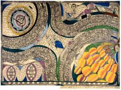 Saint-Mary-Castle-Giant-Grape: Unitif Zohrn Heavy Tons, Adolf Wölfli, 1915