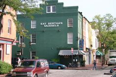 EAT Bertha's Mussels in Fells Point, Baltimore, MD. One of many fond memories of my years in Maryland.