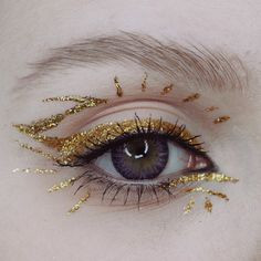 Creative Eye Makeup, Eye Makeup Art, Eye Art, Cute Makeup, Pretty Makeup, Makeup Inspo, Makeup Inspiration, Beauty Makeup, Makeup Looks