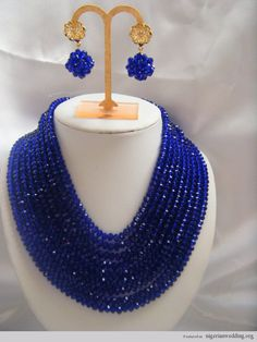 Nigerian wedding coral bead jewelry 4