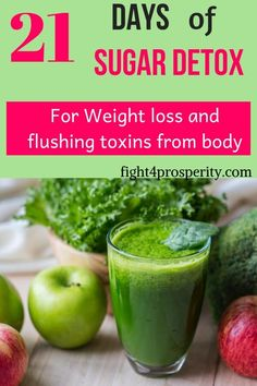 21 Days of Sugar Detox: Best Hacks to Do A Sugar Cleanse Successfully! Learn how to do a 21 days sugar detox that will help you lose weight . Sugar Detox Cleanse, Detox Cleanse For Weight Loss, Sugar Detox Plan, Sugar Detox Recipes, 21 Day Sugar Detox, Full Body Detox, Detox Your Body, Juice Recipes, Detox From Sugar