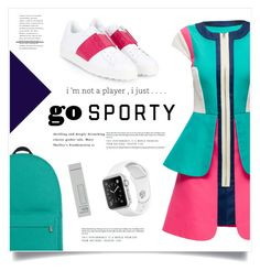 """Go Sporty!"" by marina-volaric ❤ liked on Polyvore featuring Lattori, Valentino, Burberry and sportystyle"