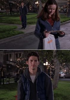 """23 Rory And Jess Moments From """"Gilmore Girls"""" That Will Make Your Heart Explode Estilo Rory Gilmore, Jess Gilmore, Gilmore Girls Quotes, Gilmore Girls Fashion, Stars Hollow, Best Tv Shows, Favorite Tv Shows, Rory And Jess, Team Logan"""