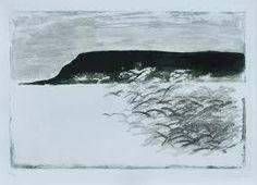 a work by Italian artist Carlo Mattioli