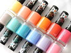 Marine Loves Polish: Rimmel Colourfest collection by Rita Ora [Swatches & Review]