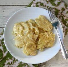 Scalloped Potatoes in Crockpot #SundaySupper