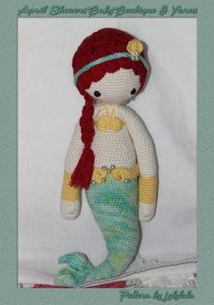 MICI the mermaid made by Juliette / crochet pattern by lalylala