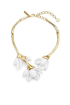 Marni floral necklace - Metallic ptGWdIEv