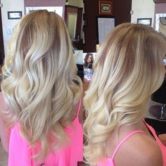 Obsessed with this hair color. Perfect for summer.