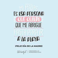 ¡Feliz Día de la Madre! :)