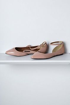 Glossed D'Orsay Flats | Anthropologie.eu