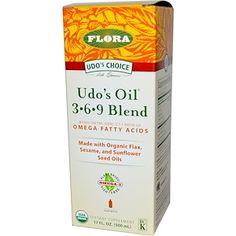Flora, Udo's Choice, Udo's Oil 3•6•9 Blend, 17 fl oz (500 ml) - iHerb.com
