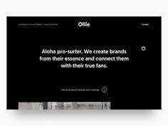 "via Muzli design inspiration. ""UI Interactions of the week is published by Muzli in Muzli - Design Inspiration. Wireframe Design, Interface Design, Minimal Website Design, Web Layout, Layout Design, Business Card Design, Creative Business, Business Cards, Ui Design Inspiration"