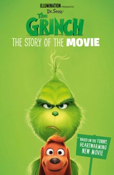 Buy The Grinch: The Story of the Movie at Mighty Ape NZ. From the creators of Minions and Despicable Me, and featuring the voice of Benedict Cumberbatch, The Grinch is Christmas guaranteed hit family . Watch The Grinch, The Grinch Movie, Dr. Seuss, Animated Movie Posters, Movie Gifs, Movie To Watch List, Good Movies To Watch, Best Christmas Movies, Holiday Movie