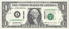 $ 1 USD