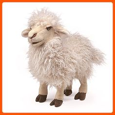 Folkmanis Longwool Sheep Hand Puppet - Plush cuteness (*Amazon Partner-Link)
