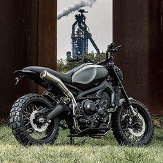 Scrambler Moto, Cars And Motorcycles, Yamaha, Bike, Vehicles, Bullets, Wheels, Bicycle, Bicycles