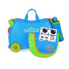 Chollo en Maleta infantil Trunki  ¡¡CHOLLO!! Maleta infantil Trunki correpasillos por 39,99€, 40% de descuento, envío gratis y 3 extras incluidos.¡Perfecto para regalo o para las comuniones!