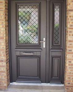 Ath na porte d 39 entr e aluminium classique mi vitr e id es pour ma maison pinterest - Prix porte d entree athena ...